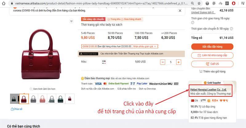 Kinh nghiệm kiểm tra chất lượng sản phẩm và shop uy tín trên Alibaba